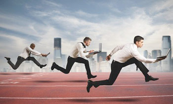 a business competition race