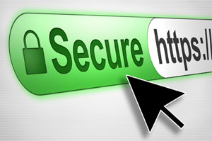 a green secure HTTPS graphic